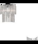 Aplica Elegant, 3 becuri, dulie E14, L:300 mm; H:325 mm; Transparenta