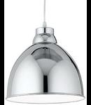 Pendul Navy, 1 bec, dulie E27, D:260 mm, H:350/1200 mm, Crom