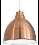 Pendul Navy, 1 bec, dulie E27, D:260 mm, H:350/1200 mm, Cupru