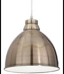 Pendul Navy, 1 bec, dulie E27, D:260 mm, H:350/1200 mm, Brun