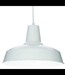 Pendul Moby, 1 bec, dulie E27, D:400 mm, H:400/1300 mm, Alb