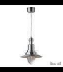 Pendul Fiordi Mic, 1 bec, dulie E27, D:315 mm, H:680/1580 mm, Aluminiu