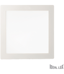 Spot incastrat, Groove, 30W, 2500Lm, LED, Patrat, Alb