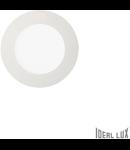 Spot incastrat, Groove, D:118 mm 10W, 800Lm, LED, Rotund
