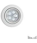 Spot incastrat Delta, D:105 mm 5W, 450Lm, LED, Rotund, Alb