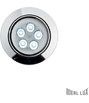 Spot incastrat Delta, D:105 mm 5W, 450Lm, LED, Rotund, Crom