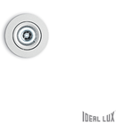 Spot incastrat Delta, D:70 mm, 1W, 90Lm, LED, Rotund, Alb
