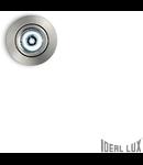 Spot incastrat Delta, D:70 mm, 1W, 90Lm, LED, Rotund, Nichel