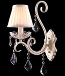 Aplica Diamant Elegant Triumph,1 x E14, 230V, D.30cm,H.42 cm,Auriu-Alb