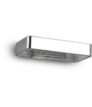 Aplica Zed Patrata, 1 LED, 390 Lm, L:200 mm, H:100 mm, Crom
