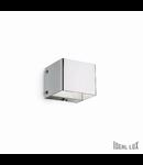 Aplica Flash, 1 bec, dulie G9, L:70 mm, H:60 mm, Crom