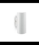Aplica Hot, 2 becuri, dulie GU10, L:80 mm, H:180 mm, Alb