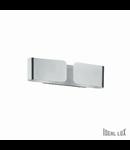 Aplica Clip Mini, 2 becuri, dulie G9, L:253 mm, H:90 mm, Crom