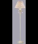 Lampa de podea Elegant Velvet 1 bec,dulie E27,230V,Diam. 44cm ,H165cm,Auriu-alb
