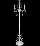 Lampa de podea Elegant Aria ,dulie 3xE14,230V,Diam. 48cm ,H163cm,Alb-Auriu