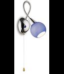 Aplica Tender, 1 bec, dulie E14, L:450 mm, H:450 mm, Multicolora