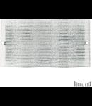 Plafoniera Cick, 3 becuri, dulie E27, L:600 mm, H:300 mm, Transparenta