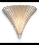 Aplica Santa Mica, 1 bec, dulie E14; L:245 mm, H:160 mm, Auriu