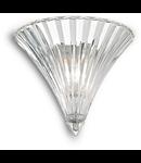 Aplica Santa Mica, 1 bec, dulie E14; L:245 mm, H:160 mm, Transparent