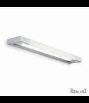 Aplica Cube Medie, 1 neon, dulie T5, L:610 mm, H:30 mm, Aluminiu