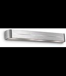 Aplica Posta, 4 becuri, dulie E14, L:620 mm, H:80 mm, Aluminiu