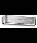Aplica Posta, 2 becuri, dulie E14, L:360 mm, H:80 mm, Aluminiu