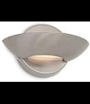 Aplica Lumina, 1 bec, dulie R7s, L:170 mm, H:100 mm, Nichel