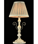 Veioza Elegant Felicita 1 bec,dulie E14,230V,Diam. 22 cm ,H 44cm,Alb-Auriu