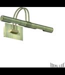 Aplica Cico, 2 becuri, dulie G9, L:270 mm, H:140 mm, Alama antica
