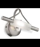 Aplica Lucciola, 1 bec, dulie R7s, L:250 mm, H:150 mm, Nichel