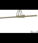 Aplica Bow, 114 LED, 456 Lm, L:115 mm, H:65 mm, Alama antica