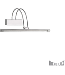 Aplica Bow, 66 LED, 230 Lm, L:460 mm, H:180 mm, Nichel