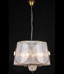 Lampa Letizia,5 becuri dulie E14, 230V,D.53cm, H.44 cm,Bronz