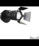 Aplica Ciak, 1 bec, dulie GU10, D:140 mm, H:200 mm, Negru