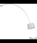 Plafoniera Dorsale 1 bec, dulie E27, L:320 mm, H:1450 mm, Alb