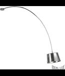 Plafoniera Dorsale 1 bec, dulie E27, L:320 mm, H:1450 mm, Crom
