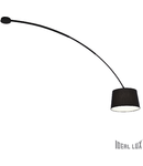 Plafoniera Dorsale 1 bec, dulie E27, L:320 mm, H:1450 mm, Negru