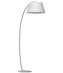 Lampa de podea Pagoda 1 bec, dulie E27, D:375 mm, H:1840 mm, Alb
