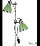 Lampa de podea Elvis, 2 becuri, dulie E27, D:240 mm, H:1600 mm, Verde