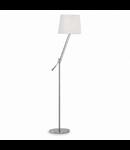 Lampa de podea Regol, 1 bec, dulie E27, D:320 mm, H:1630 mm, Crom