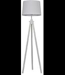 Lampa de podea York, 1 bec, dulie E27, D:480 mm, H:1640 mm, Alb