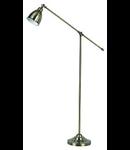 Lampa de podea Newton, 1 bec, dulie E27, D:260 mm, H:1500 mm, Nichel