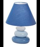 Veioza K2, 1 bec, dulie E14, D:200 mm, H:265 mm, Albastru