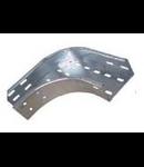 Piesa imbinare Cot 90° pentru jgheab metalic H 85 mm,latime 600mm