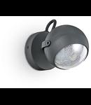 Aplica de exterior Zenith, 1 bec LED, dulie GU10, D:120 mm, H:170 mm, Antracit