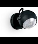 Aplica de exterior Zenith, 1 bec LED, dulie GU10, D:120 mm, H:170 mm, Negru