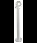 Stalp de gradina Zenith Mare 1 bec LED, dulie GU10, D:120 mm, H:170 mm, Alb