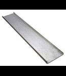 Capac pentru jgheam metalic 50x15x0,75 mm