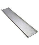 Capac pentru jgheam metalic 300x15x0,75 mm