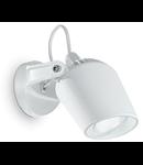 Aplica de exterior Minitommy, 1 bec LED, dulie GU10, L:122 mm, H:127 mm, Alb